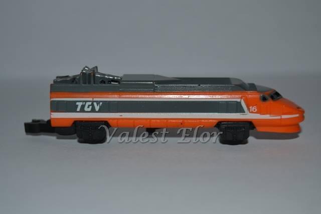 Una delle due locomotive del TGV