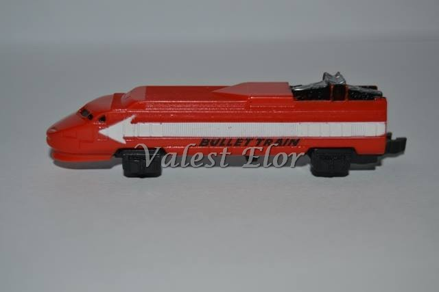 Locomotiva del TGV in versione rossa (di fantasia)