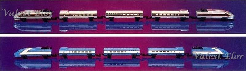 Le due livree di fantasia proposte nel 1990 (foto da catalogo)