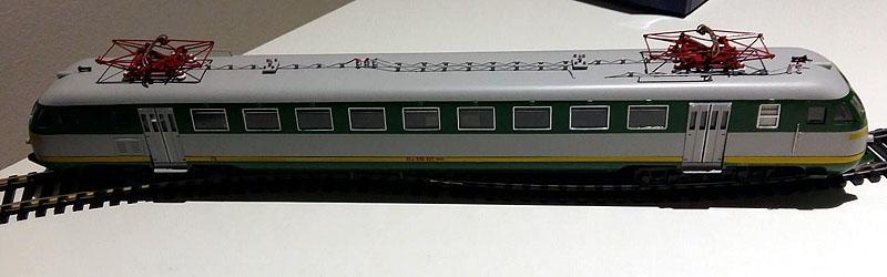 ALe 540 021 in livrea verde-grigio (art. 2094) – foto da ebay