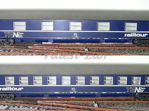 Carrozze letti tipo MU Rivarossi – parte III: ultime versioni FS e DB
