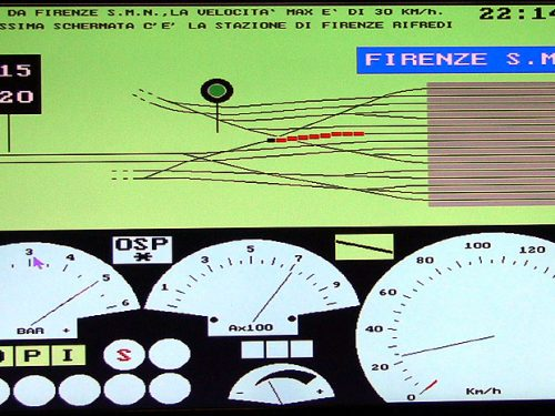 Simulatore locomotiva E444