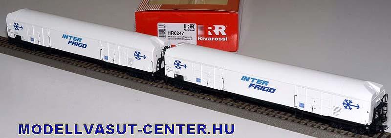 Coppia di carri Iahlps e Iaehs FS - foto da modellvasut-center.hu