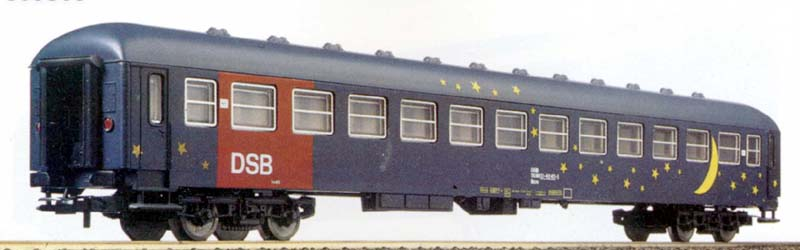 Carrozza cuccette UIC-X DSB (art. 309316K) - foto da catalogo Lima 1994/95