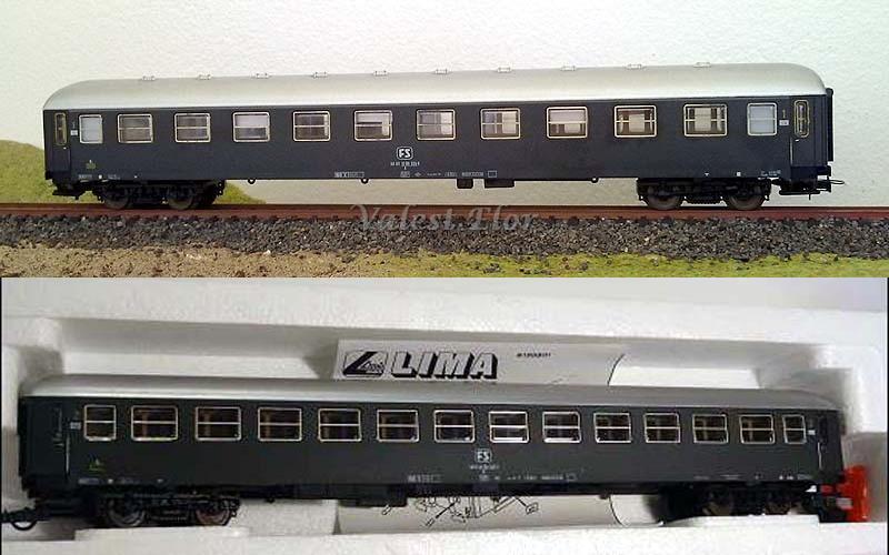 Carrozze UIC-X FS in livrea grigio ardesia: sopra la prima classe (art. 309542K), sotto la seconda classe (art. 309543K - foto da willhaben.at)