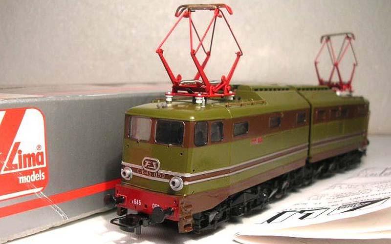 """E645 059, art. 208253LP (foto da pagina Facebook """"Lima trenini elettrici"""")"""
