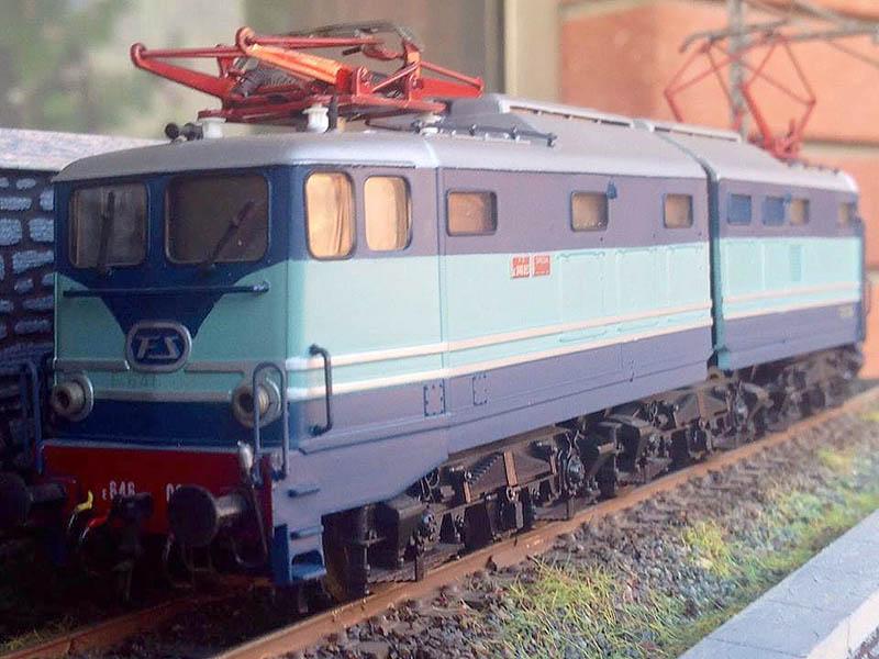 """E646 037, art. 208005LP (foto da pagina Facebook """"Lima trenini elettrici"""")"""