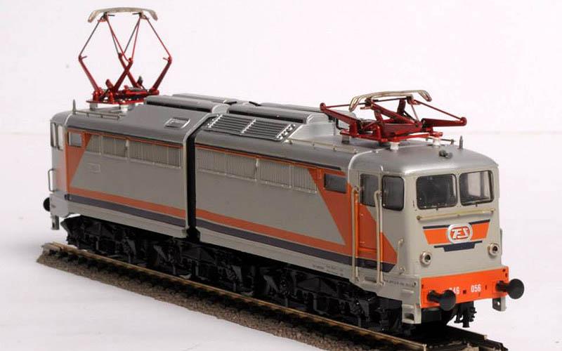 """E646 056, art. 208255LP (foto da pagina Facebook """"Lima trenini elettrici"""")"""