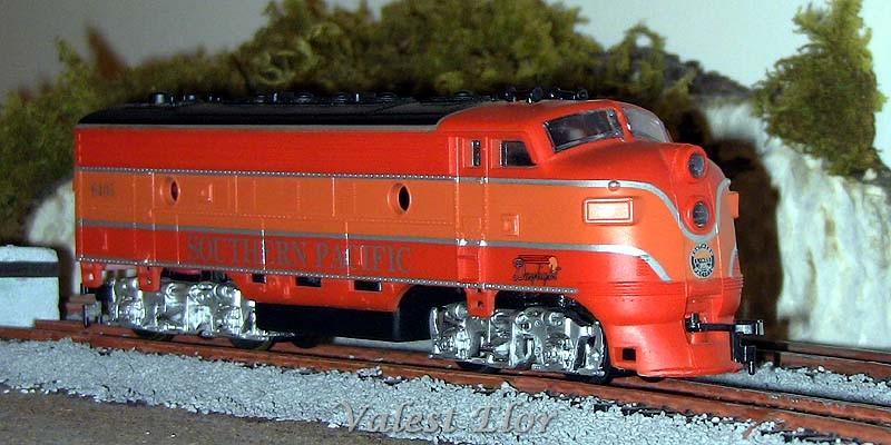Fiancata destra della locomotiva
