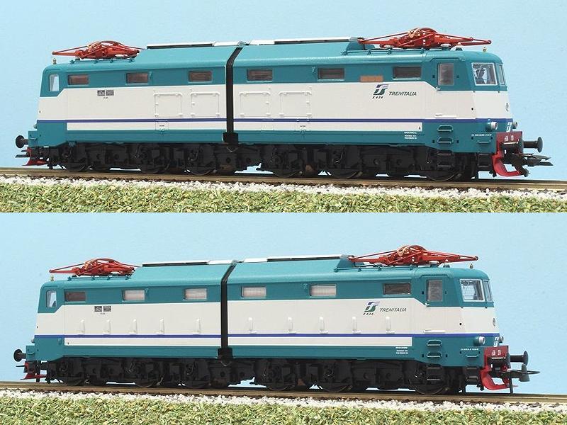 E636 193, art. 63858 (sopra) e 276, art. 63859 (sotto), entrambe in livrea XMPR - foto da ebay