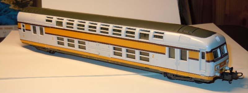 Carrozza pilota SNCF art. 9230 (poi 309230) - foto da ebay