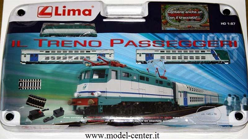 Confezione art. HL1018, con locomotiva E424 309 - foto da model-center.it