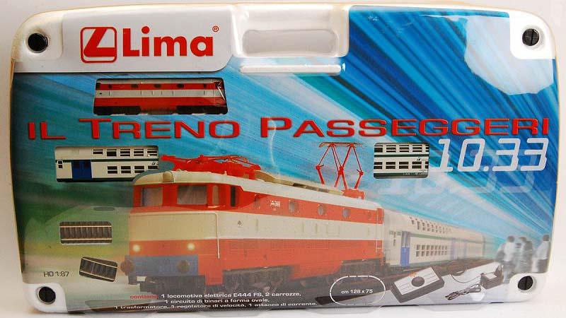 Confezione art. HL1033 con locomotiva E444 001 in livrea di fantasia - shop2.csnetwork.it