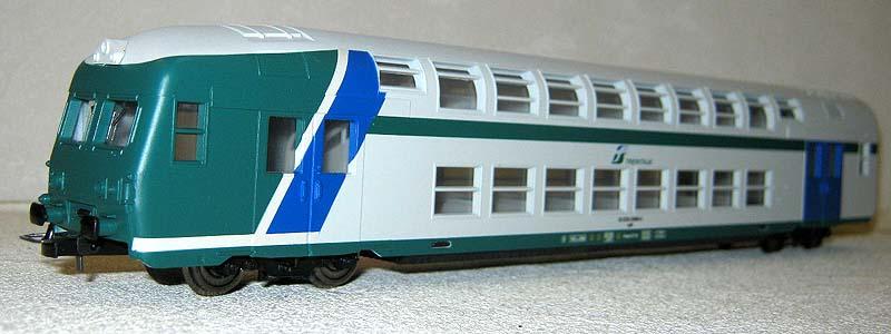 Carrozza pilota FS-Trenitalia in livrea XMPR, art. HL4102 - foto da ebay