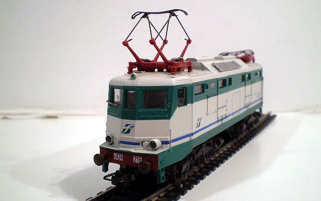 E424 216 in livrea XMPR, art. 208004 - foto da ebay