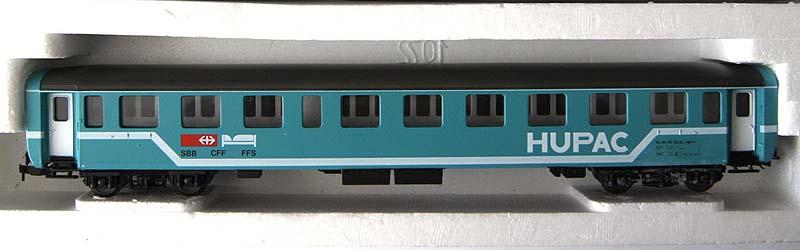 Carrozza HUPAC in livrea azzurra, art. 309515K (foto da ebay)