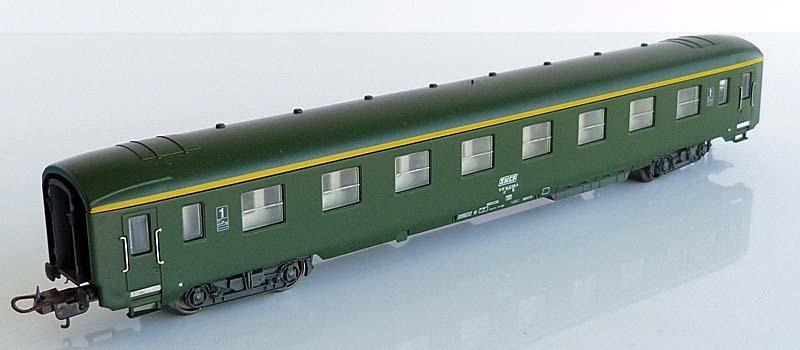 Carrozza di 1ª classe verde, art. 309101 - foto da ebay