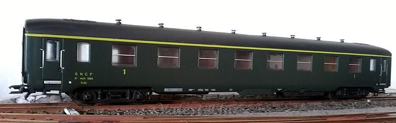Carrozza di 1ª classe verde, art. 309148