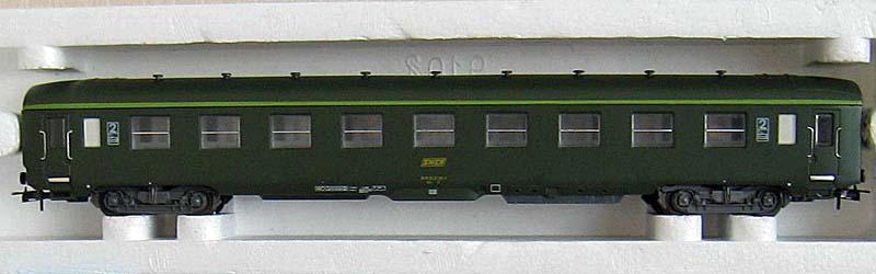 Carrozza cuccette verde, art. 309208 - foto da ebay