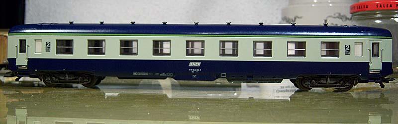 Carrozza cuccette blu-grigio, art. 309209 - foto da forotrenes.com