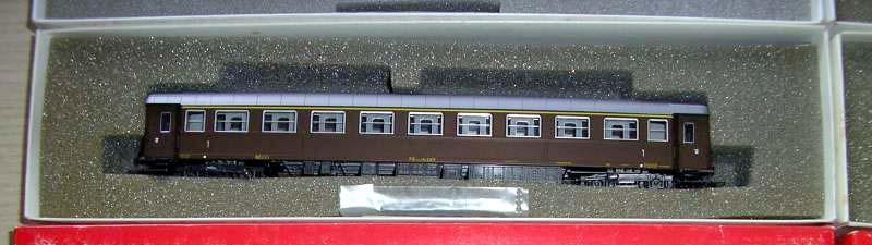 Carrozza di 1ª classe castano, art. 3504 - foto da kijiji
