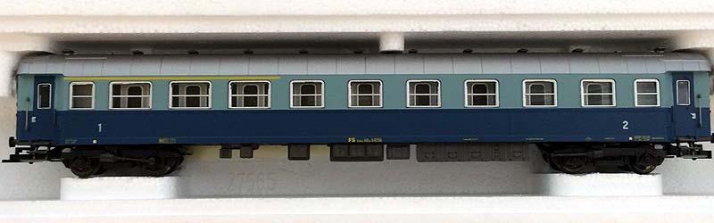 "Carrozza mista di 1ª e 2ª classe ""Treno Azzurro"", art. 3550 – foto da ebay"