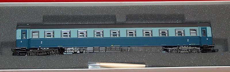 "Carrozza di 2ª classe ""Treno Azzurro"", art. 3552 – foto da ebay"