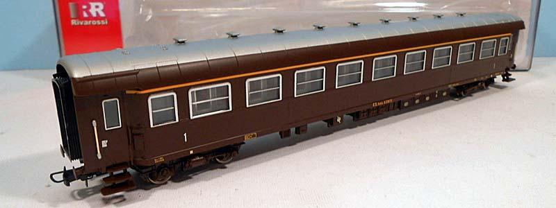 Carrozza di 1ª classe castano, art. HR4170 - foto da ebay