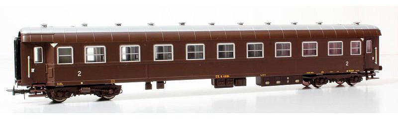 Carrozza di 2ª classe castano, art. HR4172 - foto da ebay