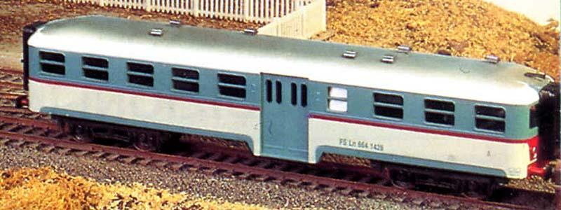 Ln 664 1428, prima versione con finestrini più grossolani - foto © Mondo Ferroviario