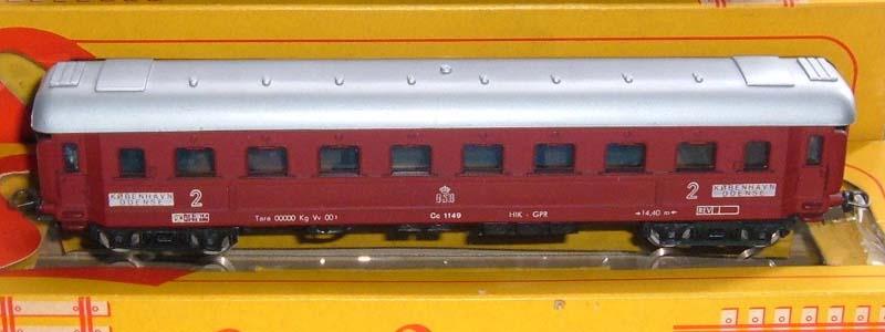Carrozza DSB in livrea rossa, art. 9105 - foto da ebay