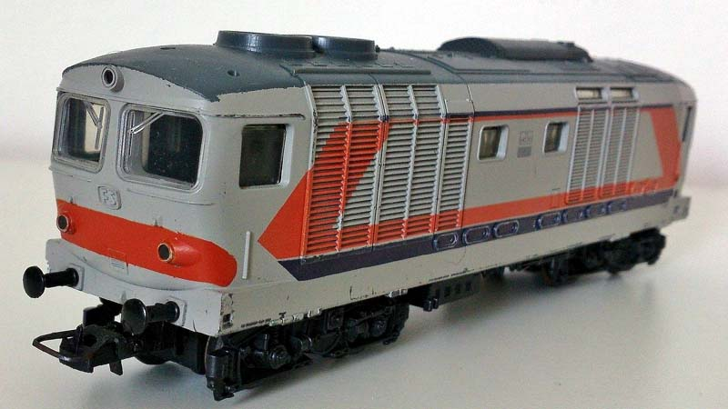 La D445 1041 in versione semplificata - foto da ebay