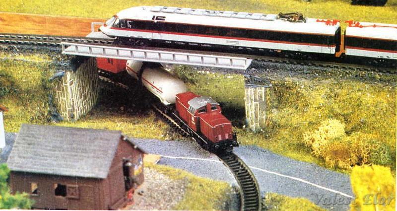 Il punto in cui le linee si scavalcano - foto da catalogo Lima 1985/86