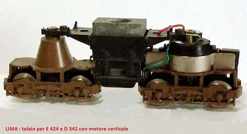 """Il primitivo telaio, con motore """"a campana"""" - foto da cuccioloazzurro.com"""