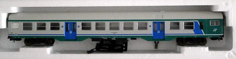 Carrozza pilota MDVC con cabina con intercomunicante in livrea XMPR con tetto bianco, art. 309525 – foto da ebay