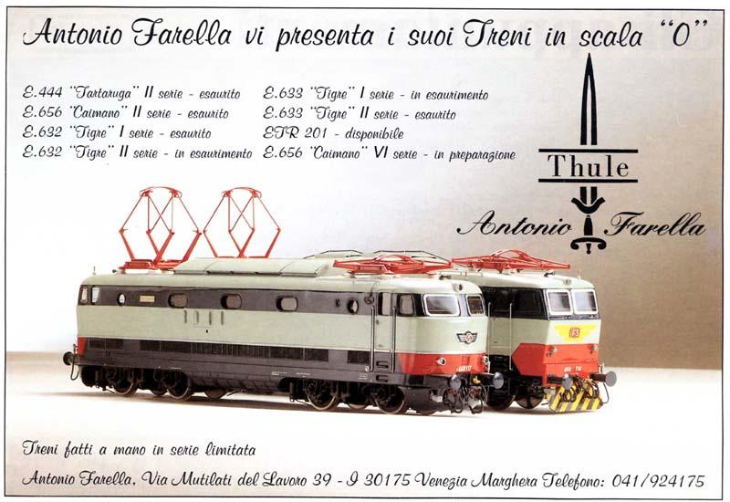 E444 ed E656 - pagina pubblicitaria del 1992