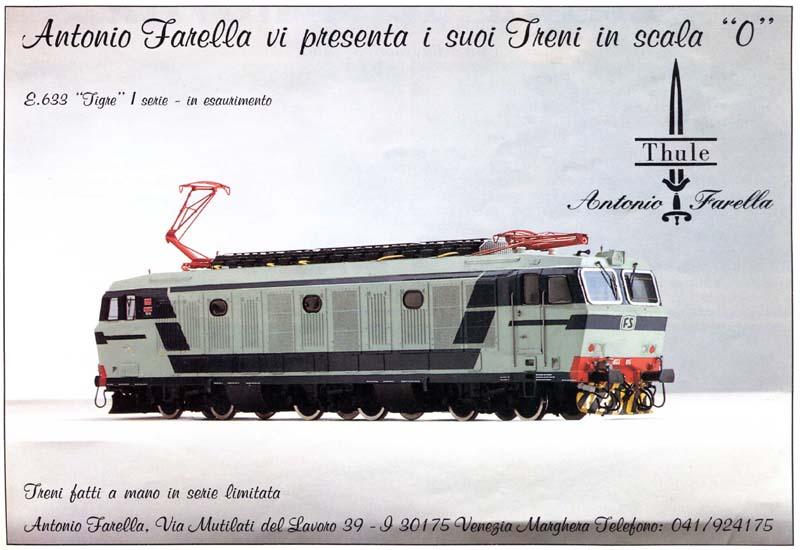 E633 - pagina pubblicitaria del 1992