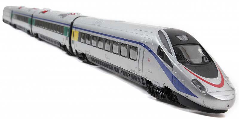 ETR 610 in livrea Cisalpino con loghi Trenitalia - foto da hornby.it