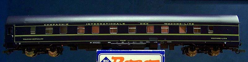 Carrozza 4600 con un solo vestibolo, immatricolata CIWL 51 66 06-51 020-9, art. 44839 - foto da kleinbahnsammler.at