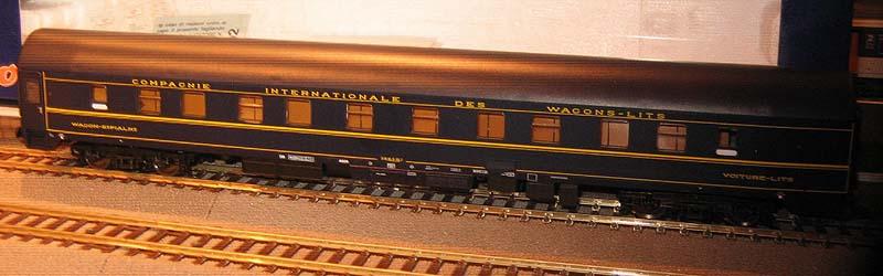 Carrozza 4601 con un solo vestibolo, immatricolata CIWL 51 66 06-51 021-7, art. 44839 - foto da kleinbahnsammler.at