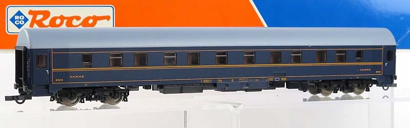 Carrozza 4614 immatricolata RENFE, art. 44844 - foto da ebay