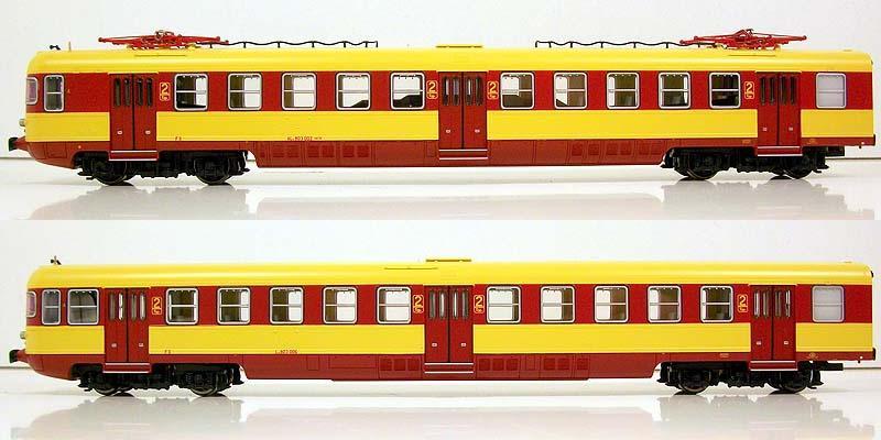 ALe803 002 e rimorchio Le803 006, art. 91404, vista laterale - foto da ebay