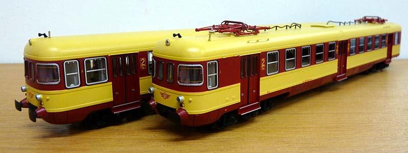 ALe803 002 e rimorchio Le803 006, art. 91404 - foto da minimondo2002.it