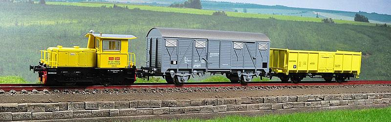 214 4184 in confezione con due carri, art. 51144 - foto da hgd.ro