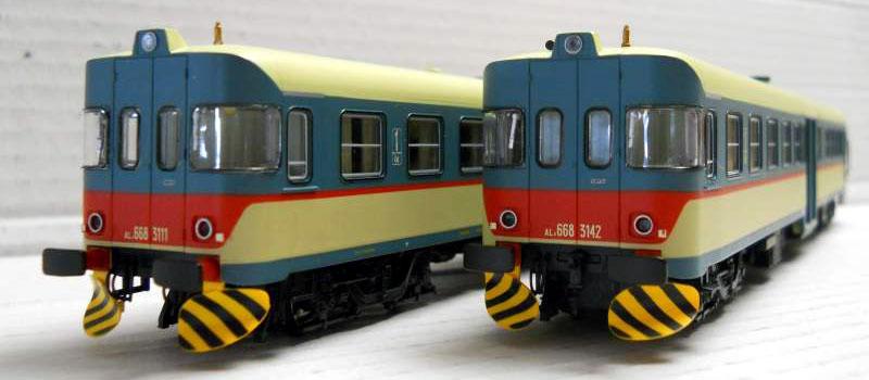 ALn 668 3111 e 3142, art. HR2172 - foto da kijiji