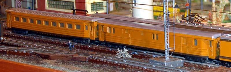 Bagagliaio e carrozza in versione americanizzata - foto da rivarossi-memory.it