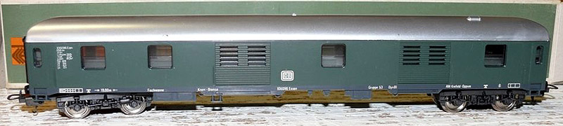 Bagagliaio DB in livrea verde, art. 9314 - foto da ebay