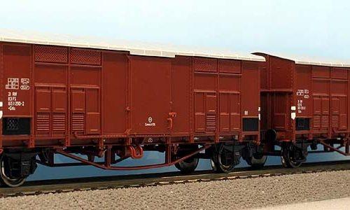 Nuovi carri FF a passo lungo – Roco